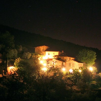 Podere Casarotta by night