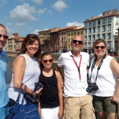 On a Pisa Wallking Tour
