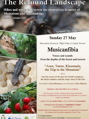 Musicanfibia hiking in High Valley of Carfalo Torrent Sunday 27th May at 9.00am