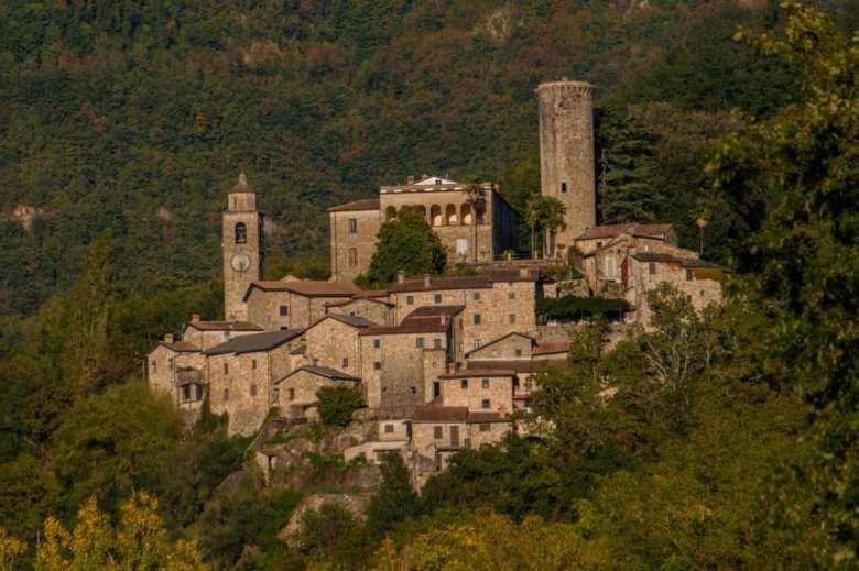 Il borgo alto di Bagnone