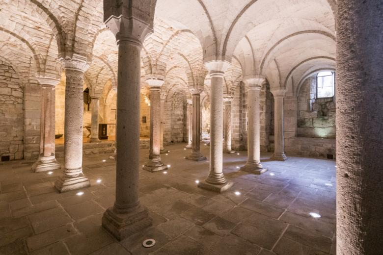 Crypt of the Abbey of San Salvatore
