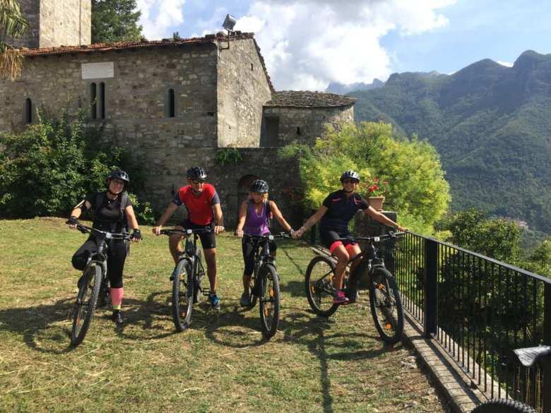 Bici a Monte de'Bianchi