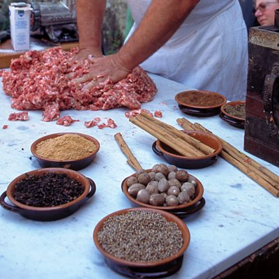 The preparation of cold cuts