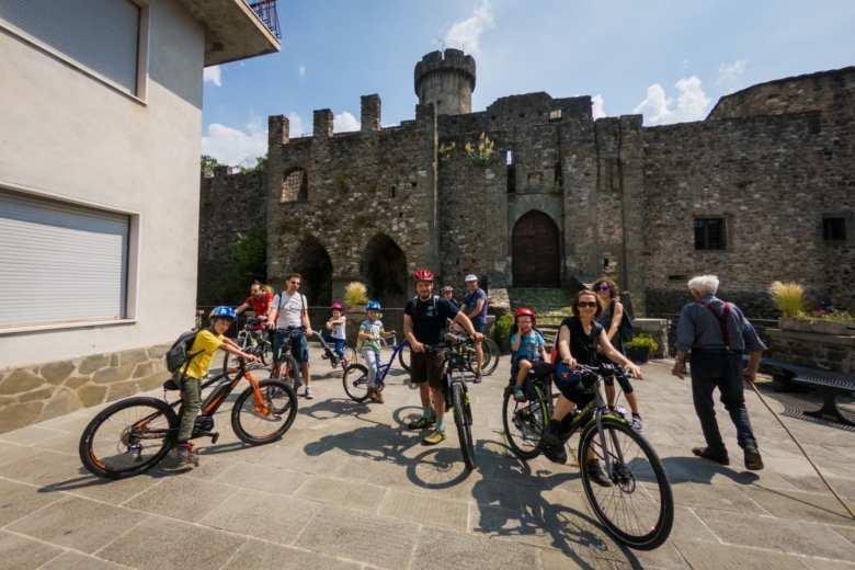 Bici al castello di Malgrate