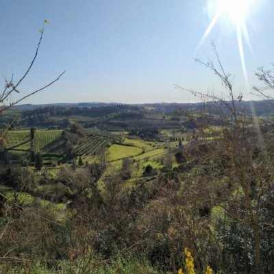 San Miniato view on the valley