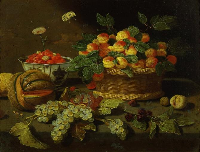 Still life by Jan van Kessel