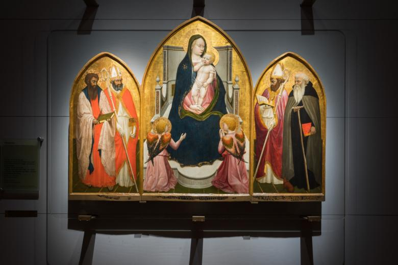 The Triptych of San Giovenale