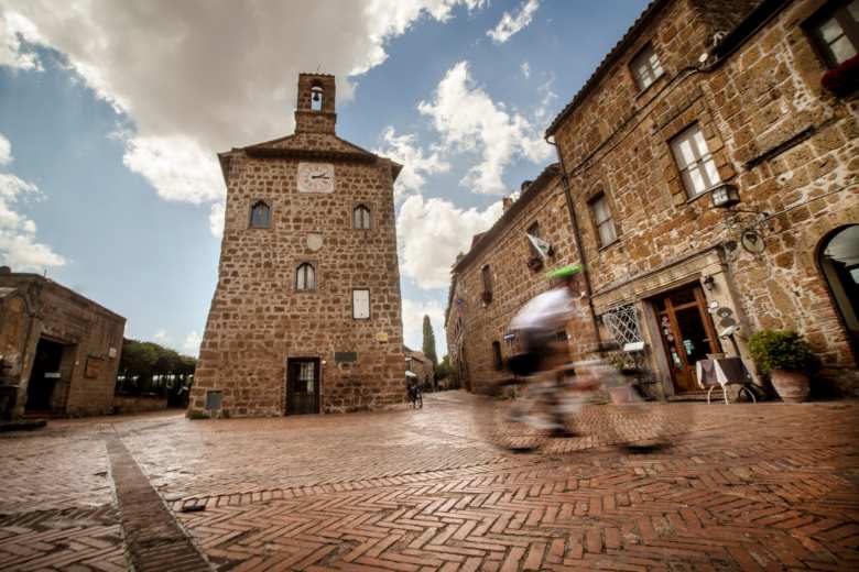 The village of Sovana, Maremma, Tuscany