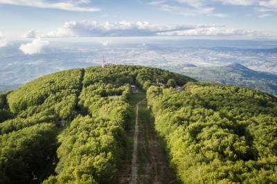 The summit of Monte Amiata, Tuscany