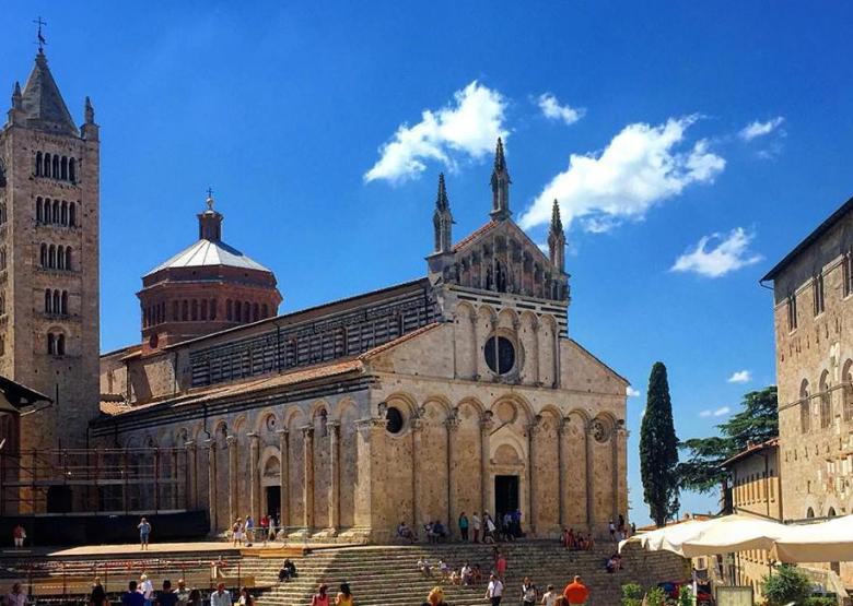 The Cathedral in Massa Marittima