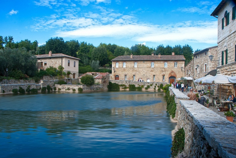 Thermal baths and spa towns in tuscany visit tuscany - Bagno vignoni mappa ...