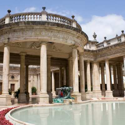 Tettuccio Thermal Baths in Montecatini Terme