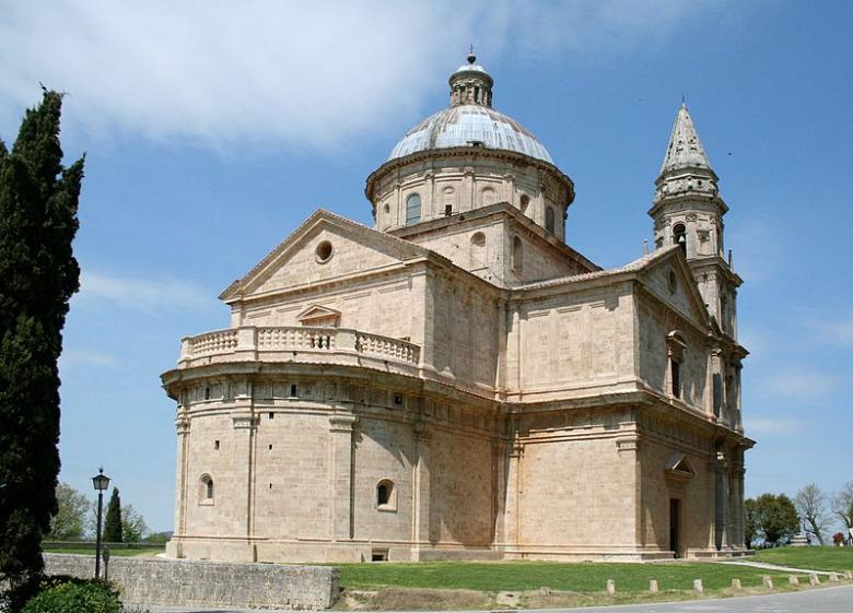 San Biagio church in Montepulciano