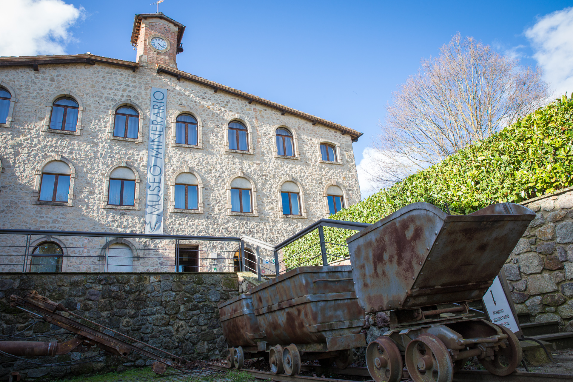 Mining Park And Museum And Level Vii Gallery Visit Tuscany
