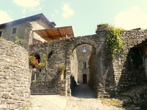 Gate of Casola in Lunigiana