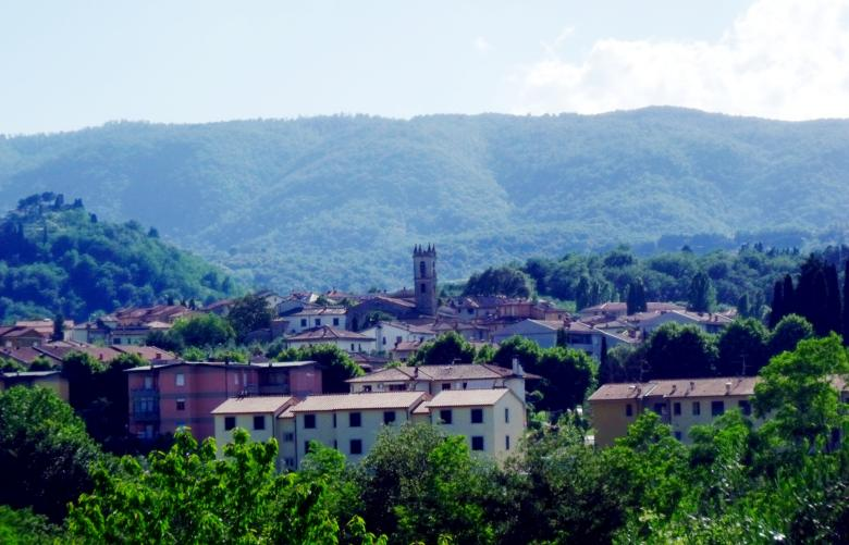 View of Cavriglia