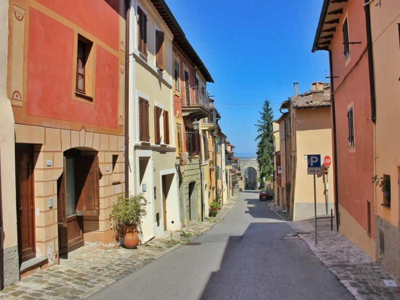 Chiusi City
