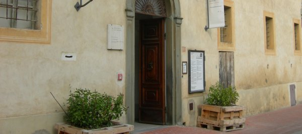 Entrance of Archeology Museum - San Gimignano