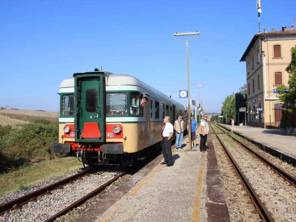 Treno Natura: From Siena to Chiusi on board the Etruscan train*