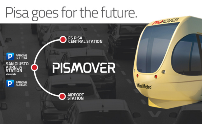 how to get from pisa airport to florence by train