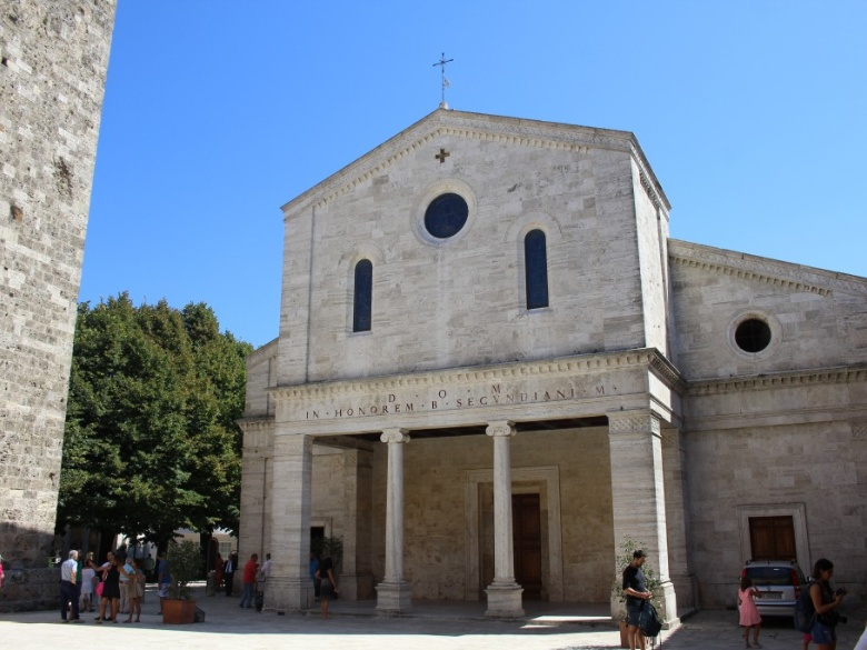 San Secondiano Cathedral*