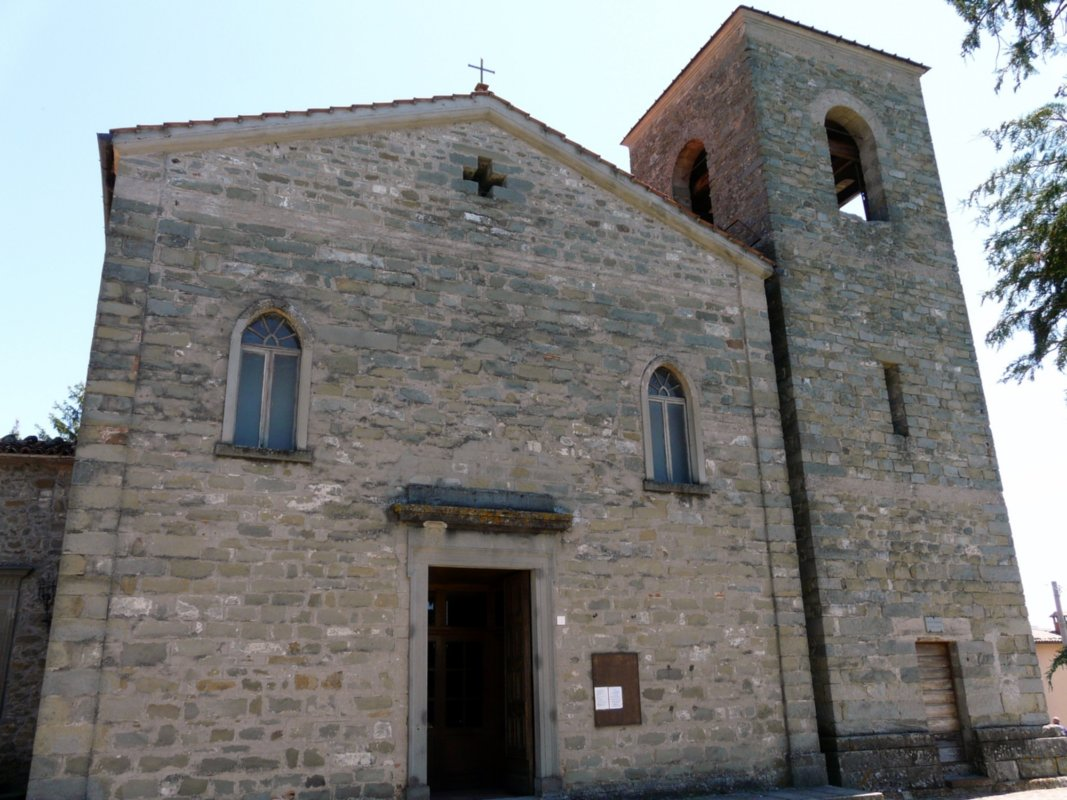 Villa Collemandina, Church of St. Sisto and St. Margherita