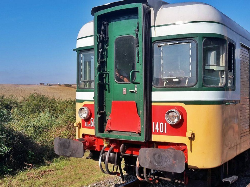 Treno natura (vintage railcar) from Siena to Chiusi