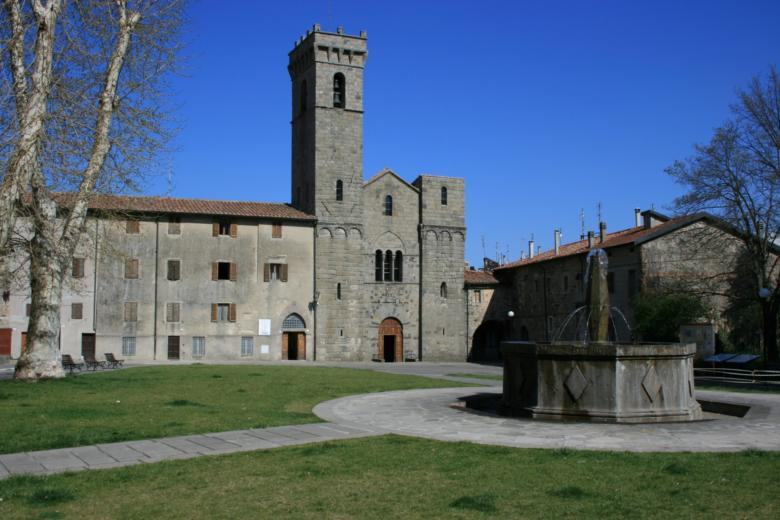 Abbey of San Salvatore in Abbadia San Salvatore