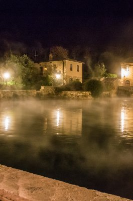 Thermal water in Bagno Vignoni