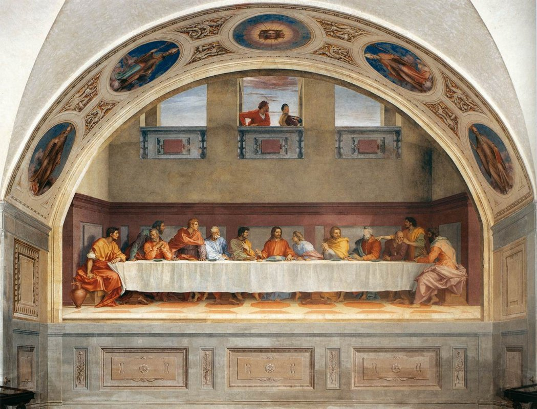 The Last Supper, Andrea Del Sarto