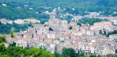 View of Arcidosso
