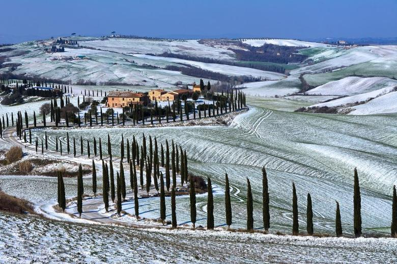 тоскана зимой фото эпоху
