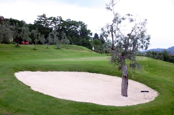 Golf Club Villa Gori bunker