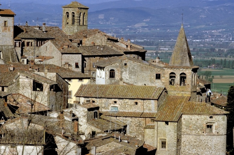 The town of Anghiari