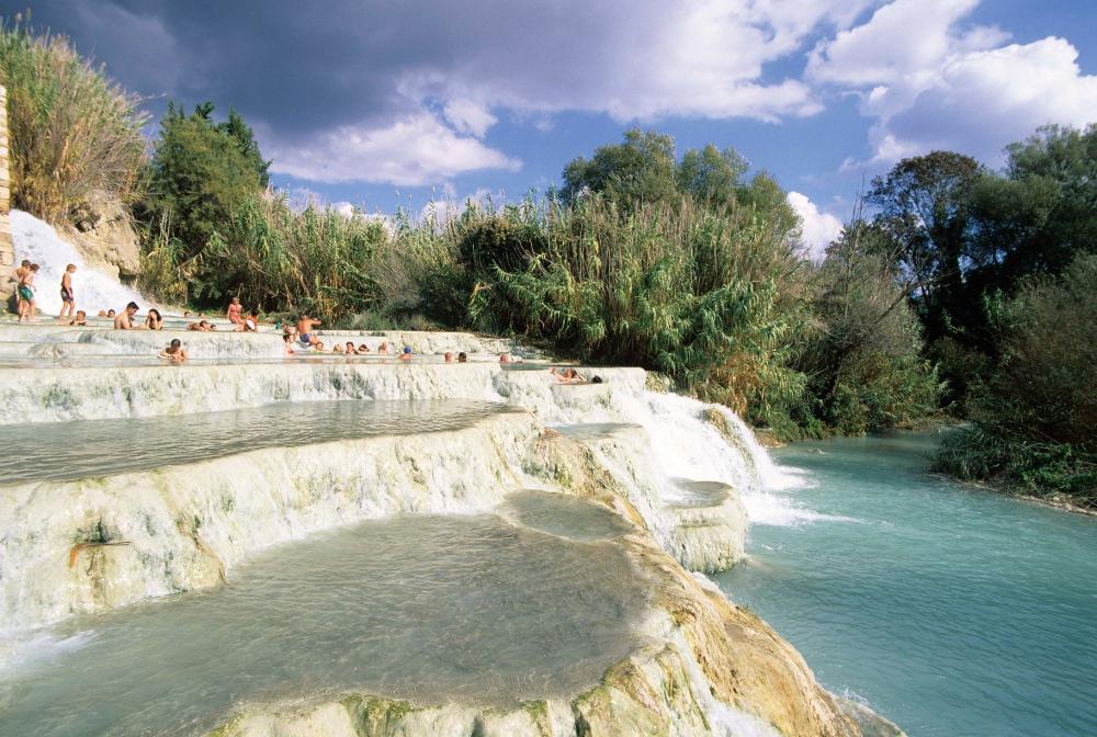 Le Cascate del Mulino a Saturnia | Visit Tuscany