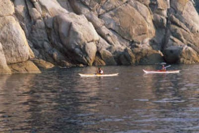 Kayak all' Isola d' Elba