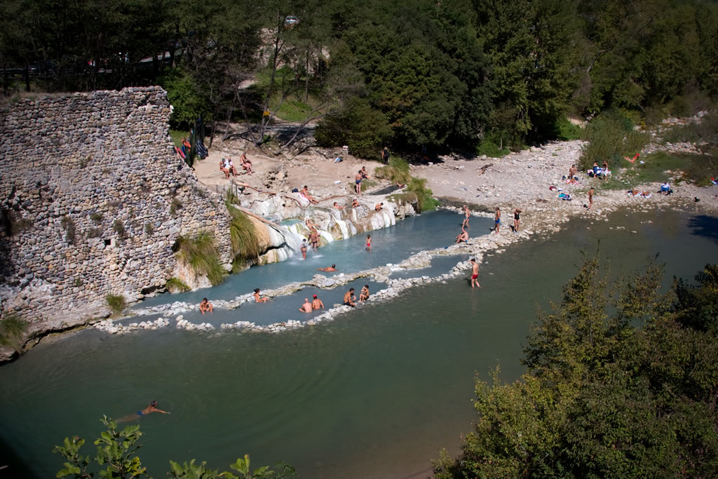 Terme di petriolo hot springs a tuscany pearl that has lost its
