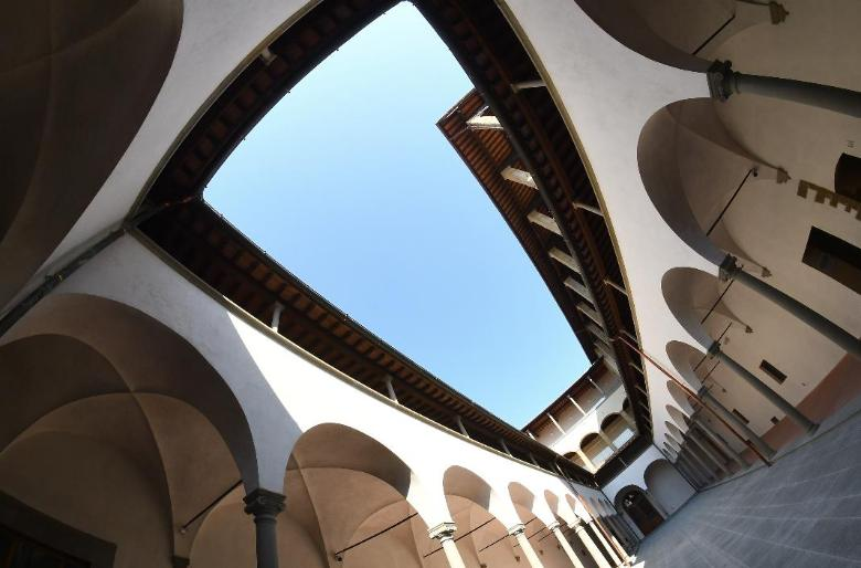 """Cortile delle Donne"" at the Museo degli Innocenti"