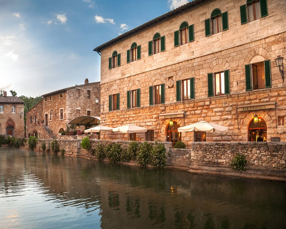 Terme di bagno vignoni visit tuscany