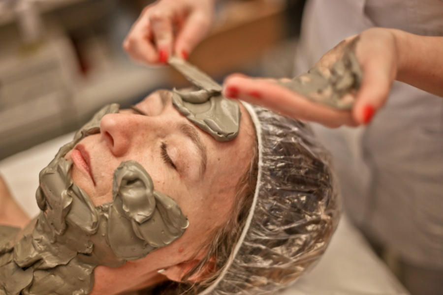 Beauty treatment at Terme Excelsior, Montecatini