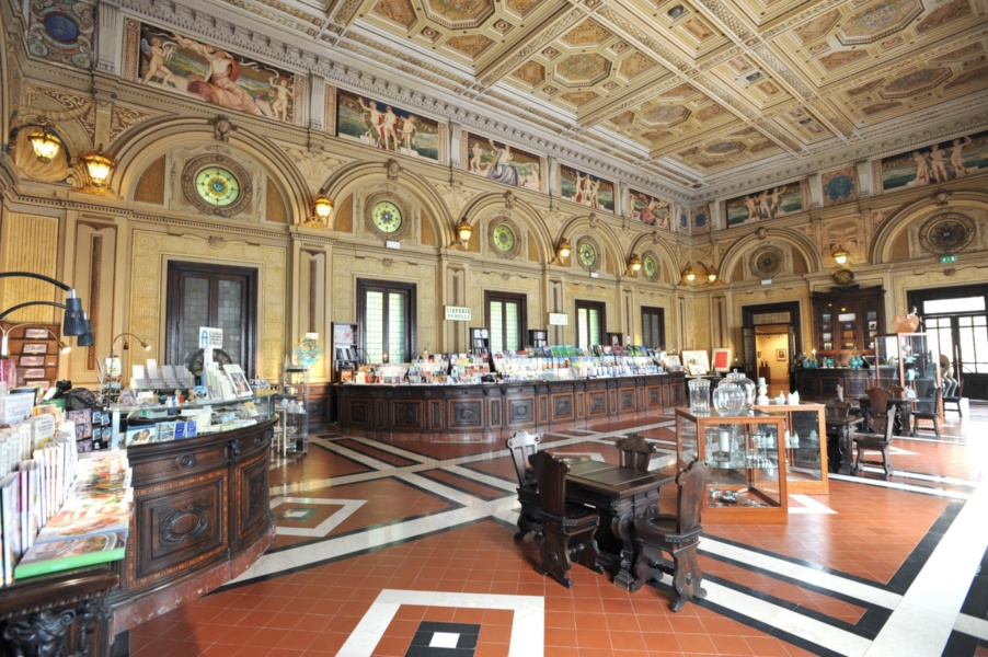 Reading room, Terme Tettuccio