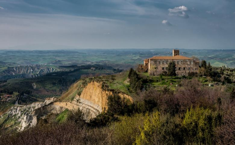 Balze cliffs in Volterra