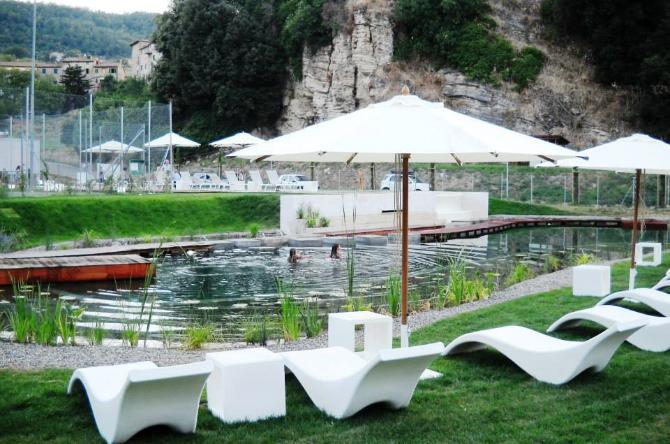 Relaxation and health at the Biolake of Sasso Pisano