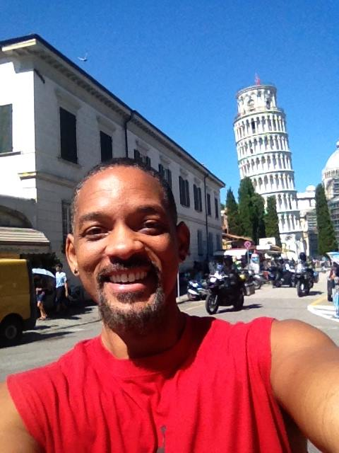 Will Smith in Pisa