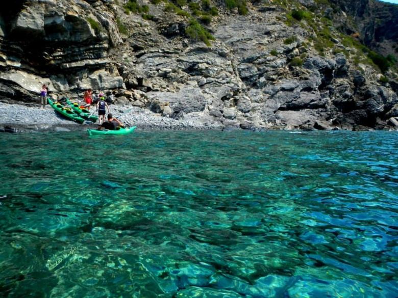 Escursione in kayak all'isola d'Elba