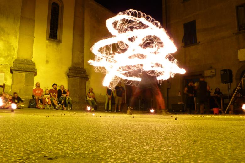 An event in Roccatederighi