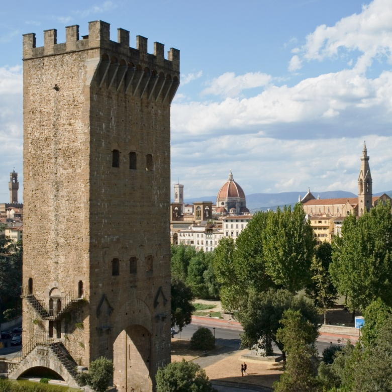 San Niccolò Tower and the Duomo