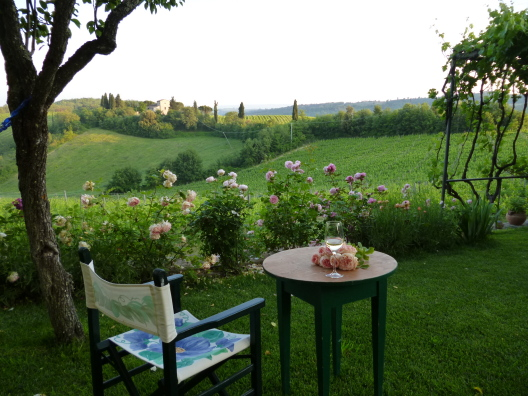 Home for exchange in the Tuscan countryside