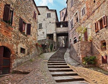 Il borgo medievale di Anghiari
