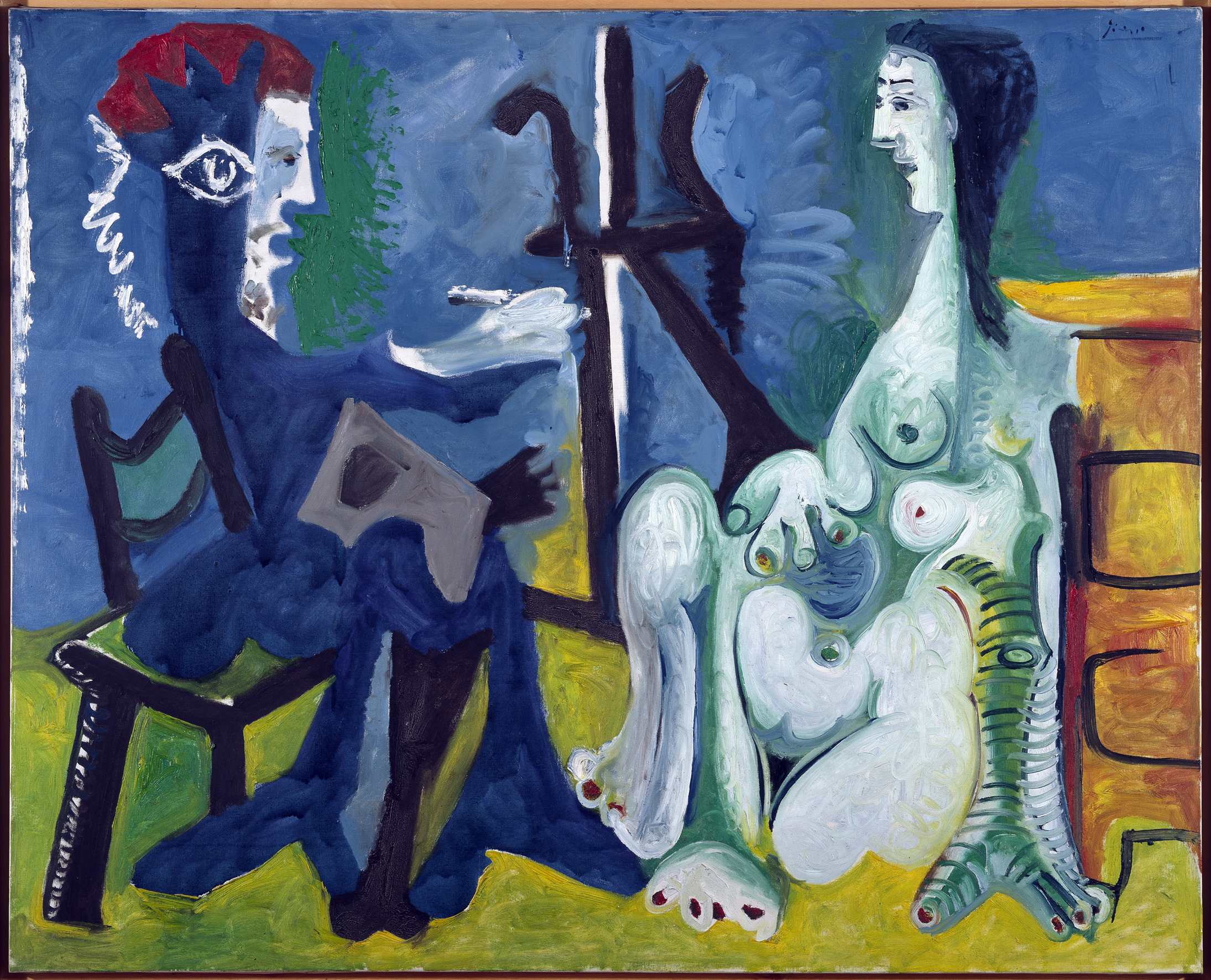 Picasso, The painter and The Model. Museo ANcional Centro de Arte Reina Sofia collection, Madrid.
